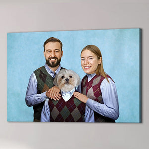 'Step Doggo/Humans' Personalized Canvas