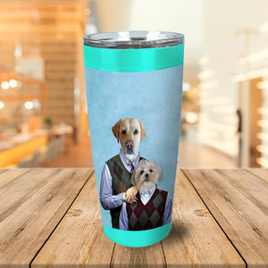 Step Doggos Personalized 2 Pet Tumbler