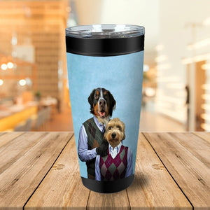 Step Doggo & Doggette Personalized 2 Pet Tumbler