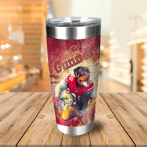 San Francisco 40Doggos Personalized Tumbler
