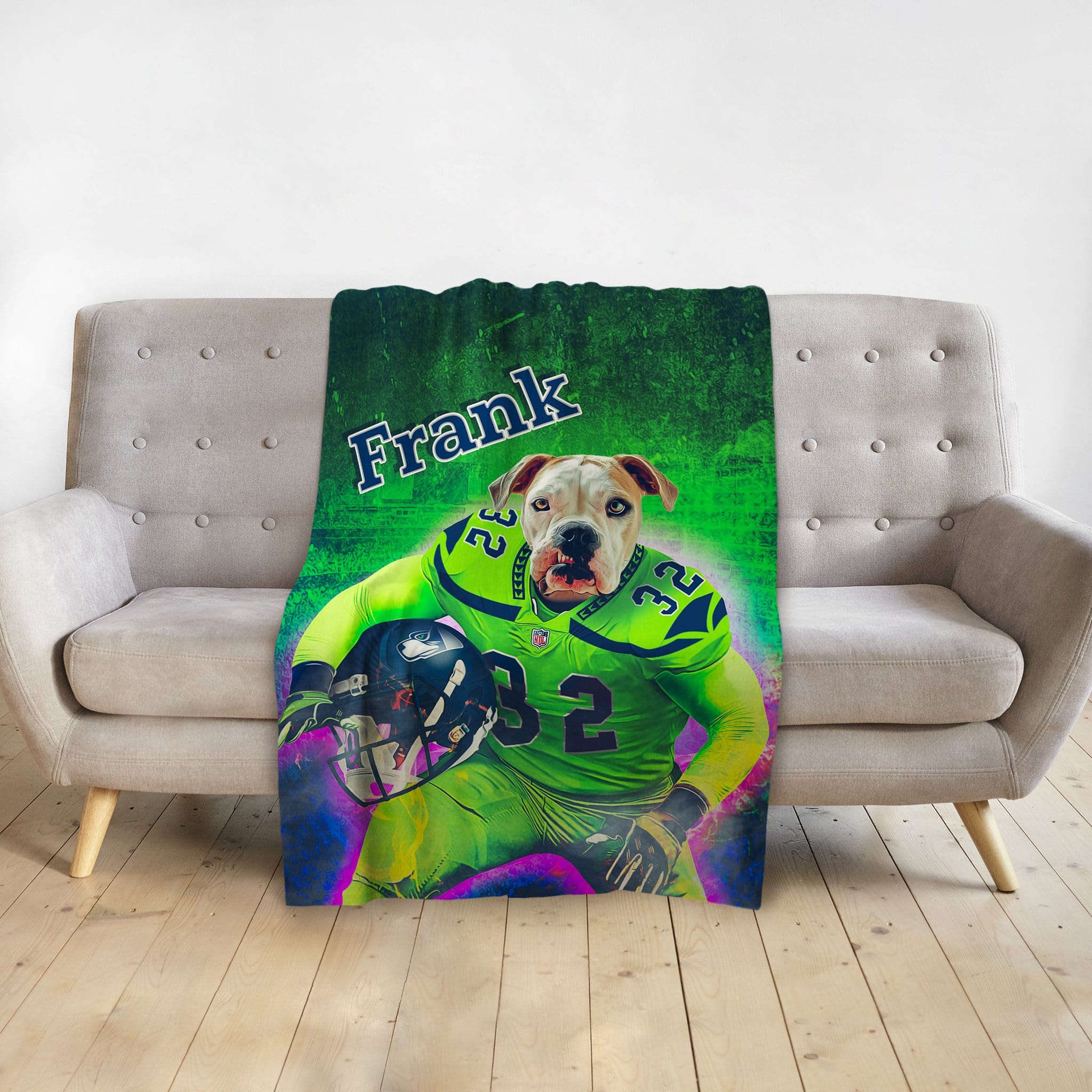 'Seattle Doggos' Personalized Pet Blanket
