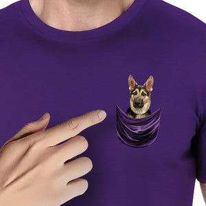 Personalizable Doggy Pocket T Shirt