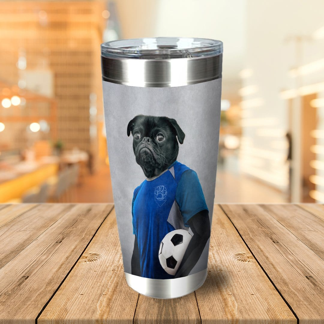 'The Soccer Player' Personalized Tumbler