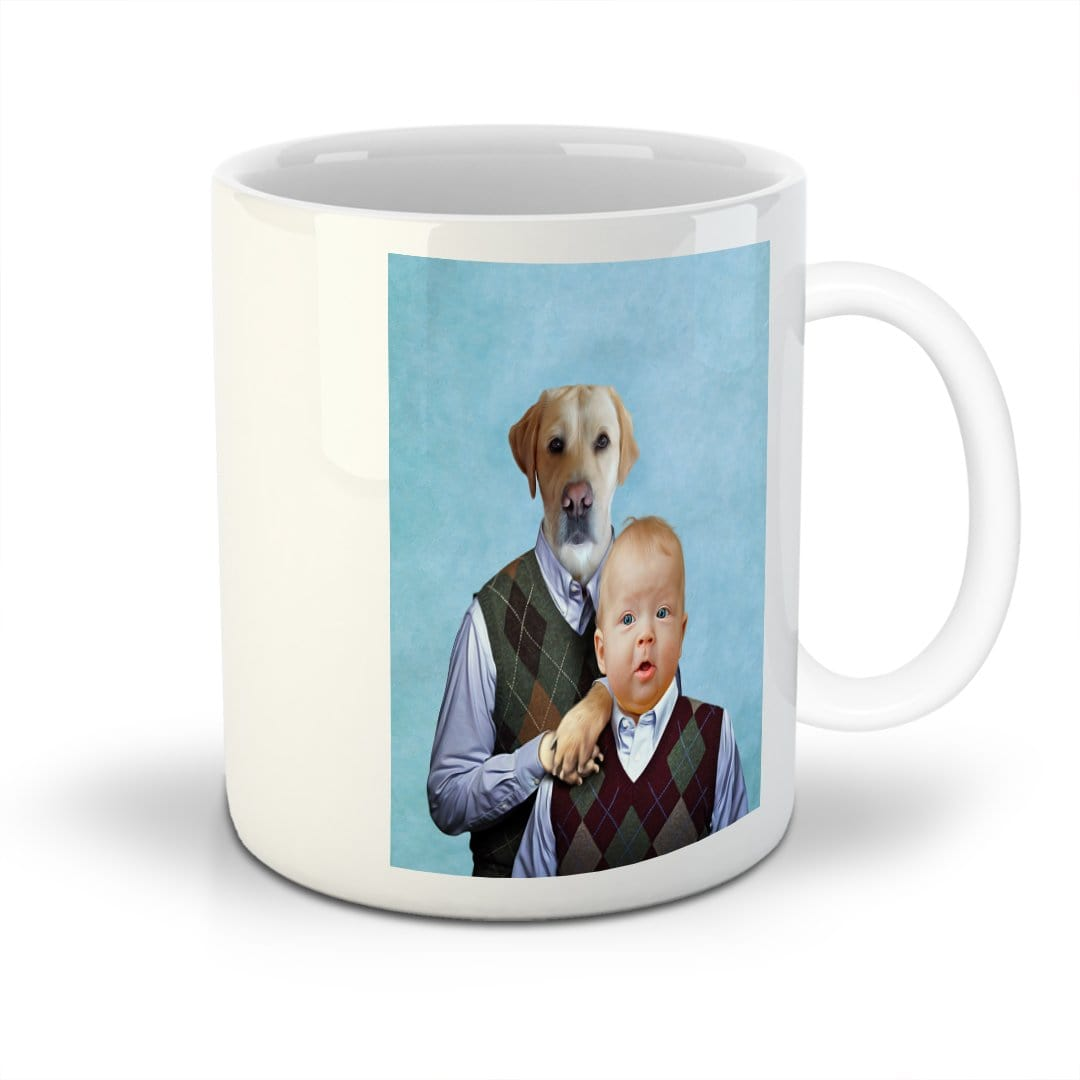 'Step Doggo & Human' Custom Mug
