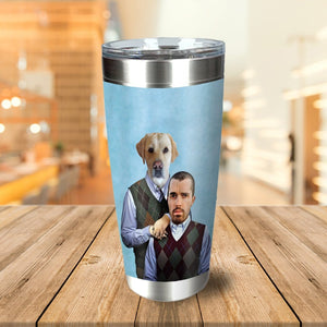 Step Doggo And Human Personalized Tumbler