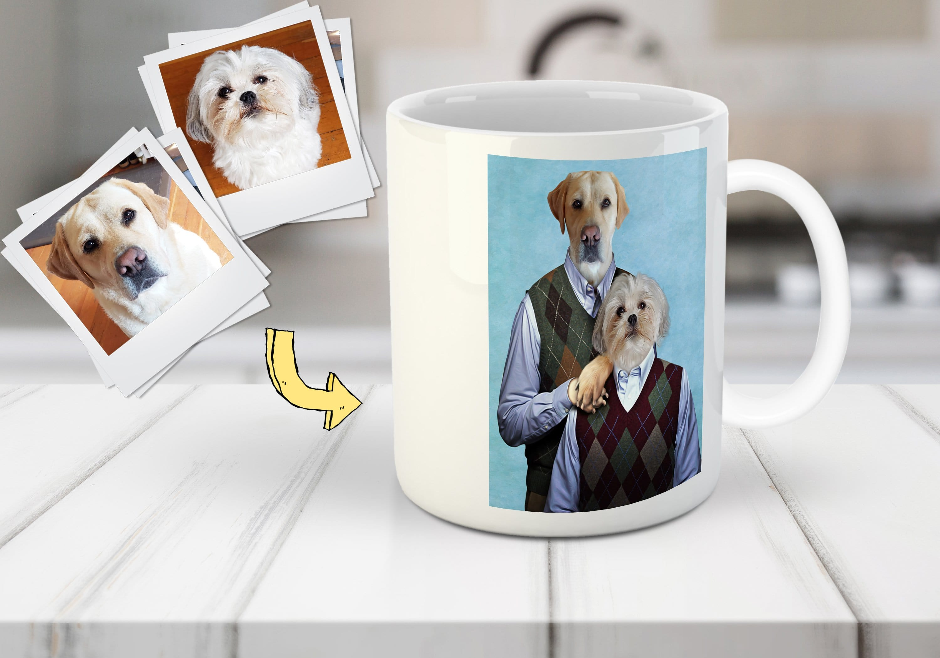 Step Doggos Custom Pet Mug