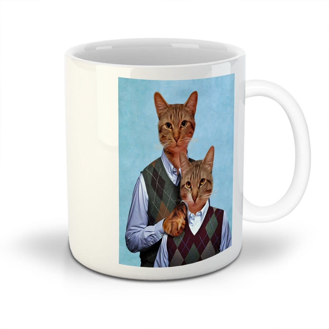 'Step Kitties' Custom 2 Cat Mug
