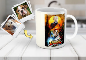 'Street Doggos' Personalized 2 Pet Mug