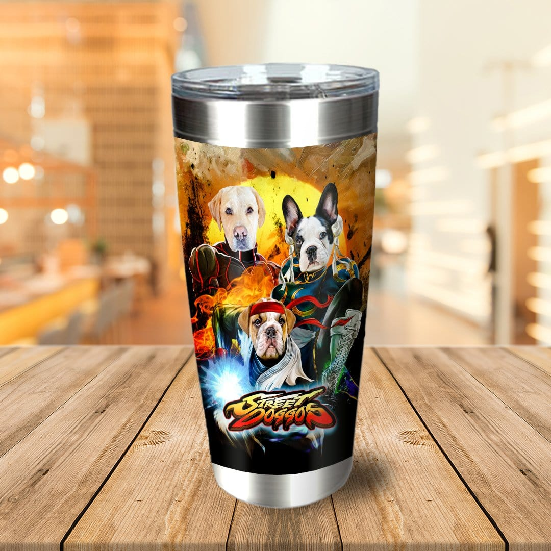 'Street Doggos' Personalized 3 Pet Tumbler