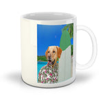 'The Surfer' Personalized Pet Mug