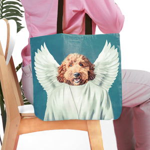 'The Angel' Personalized Tote Bag