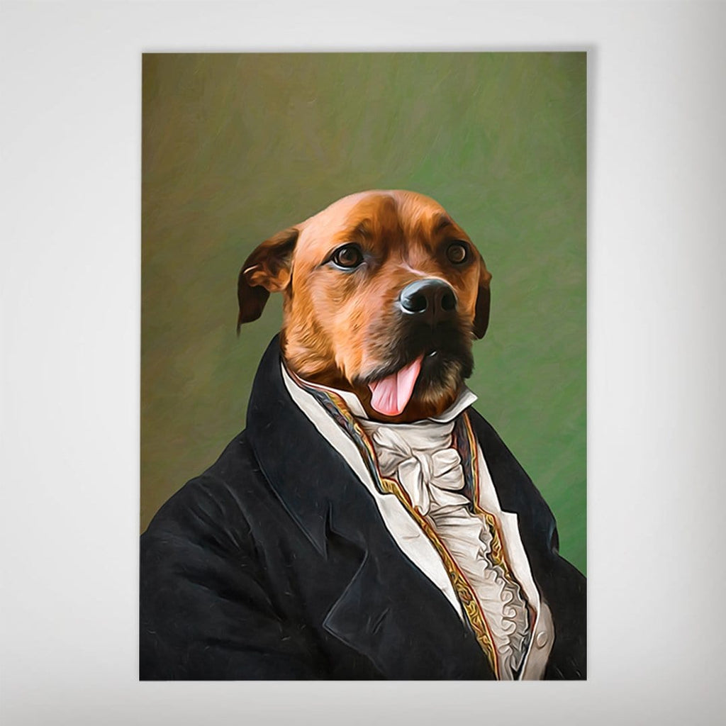 The Ambassador: Personalized Dog Poster