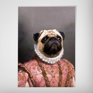 The Archduchess: Personalized Pet Poster