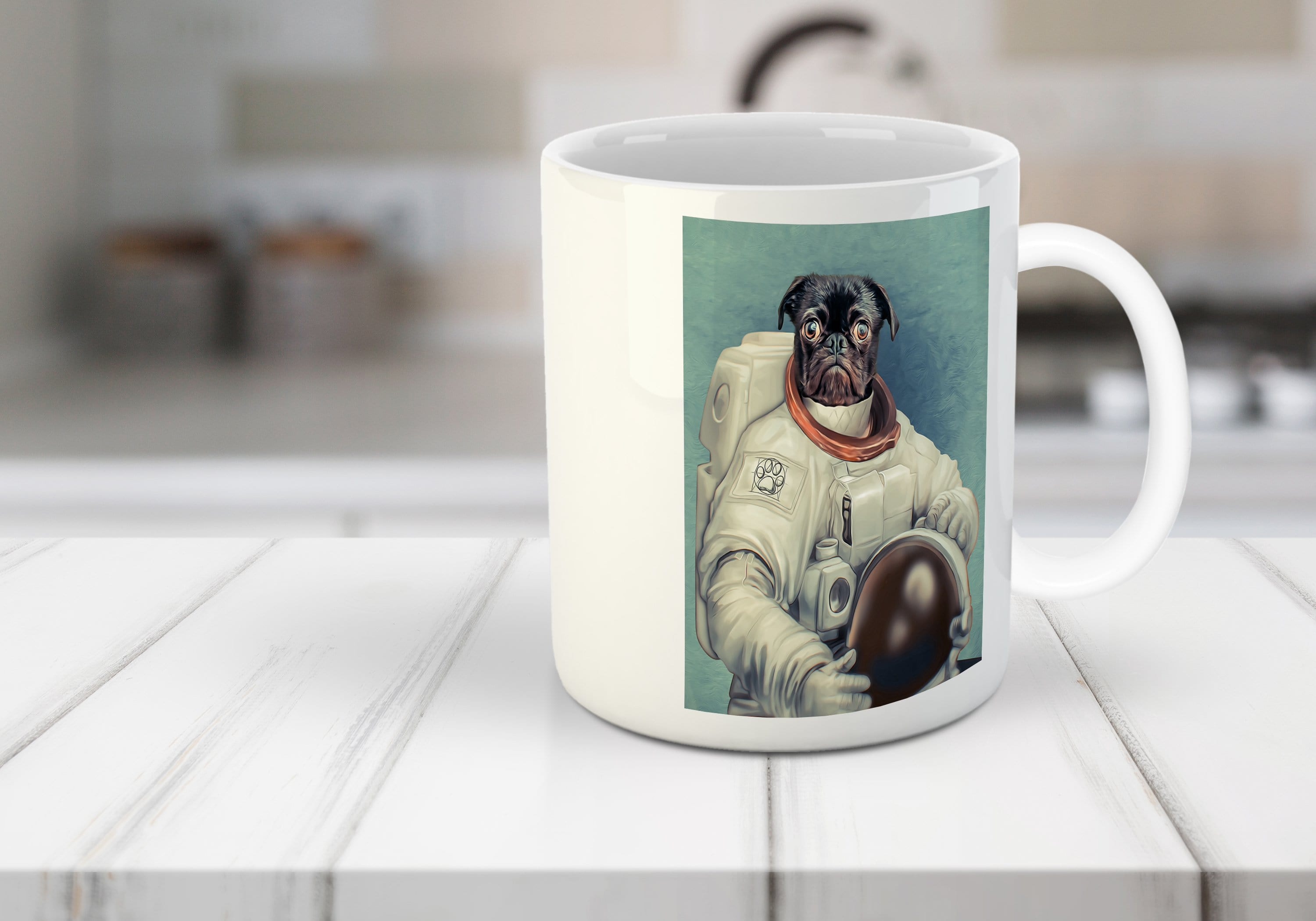 The Astronaut Custom Pet Mug