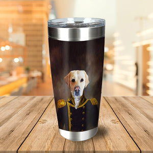 The Captain Personalized Tumbler