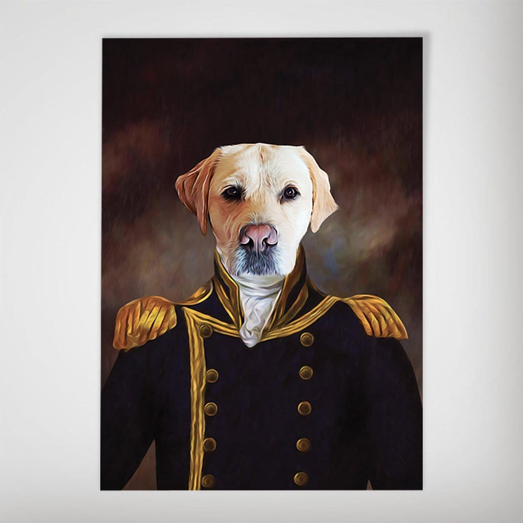 The Captain: Personalized Dog Poster