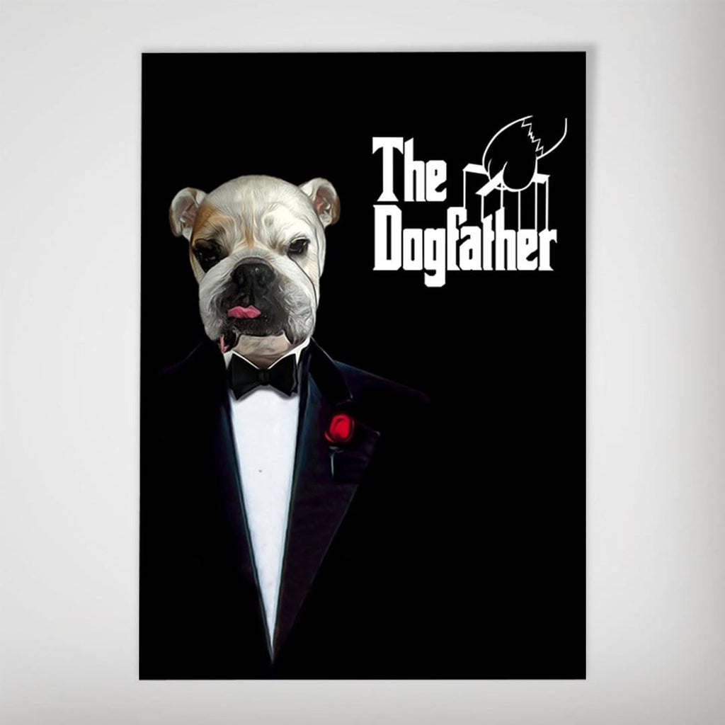 The Dogfather: Personalized Dog Poster