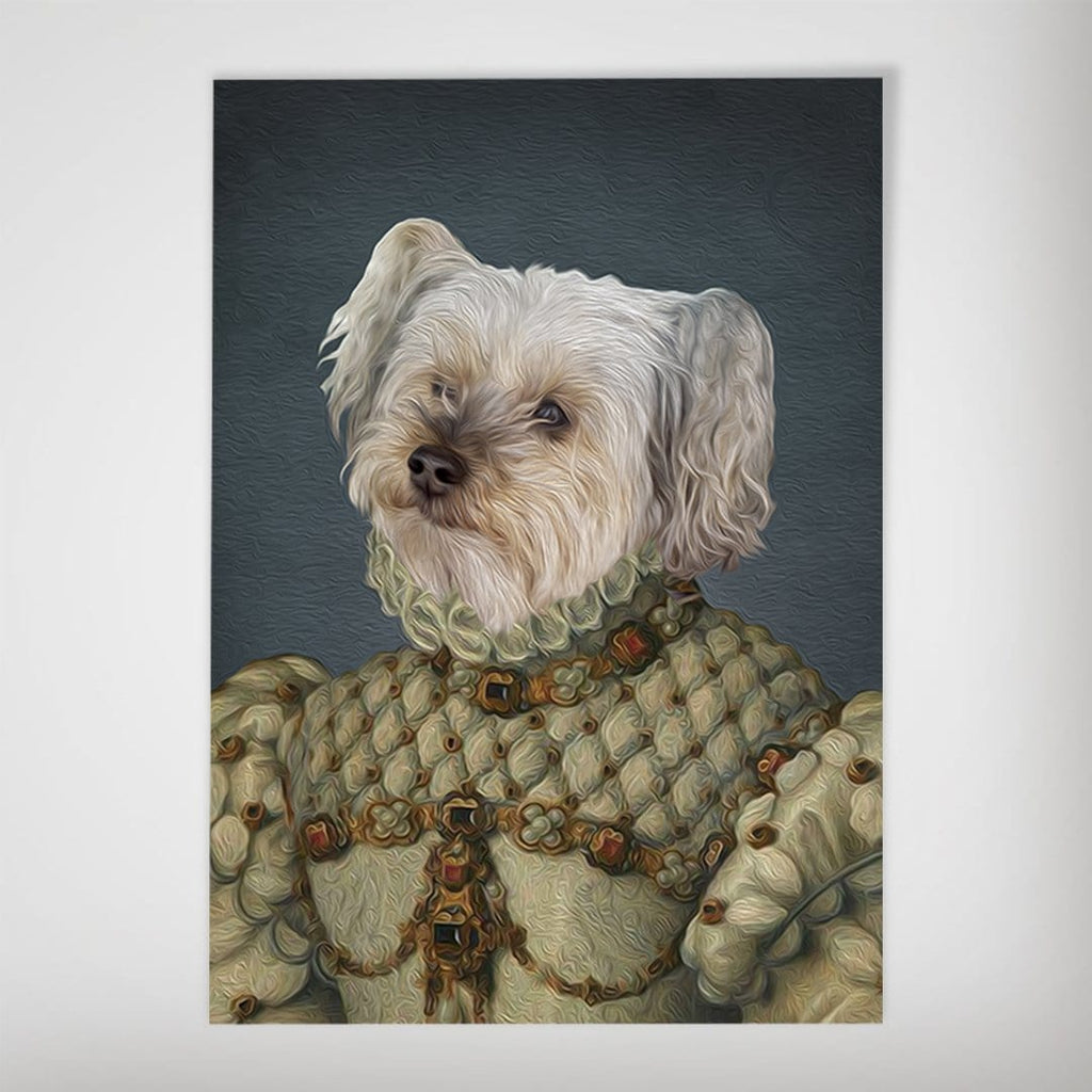 The Princess: Personalized Dog Poster