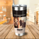 The Woofing Personalized 2 Pet Tumbler