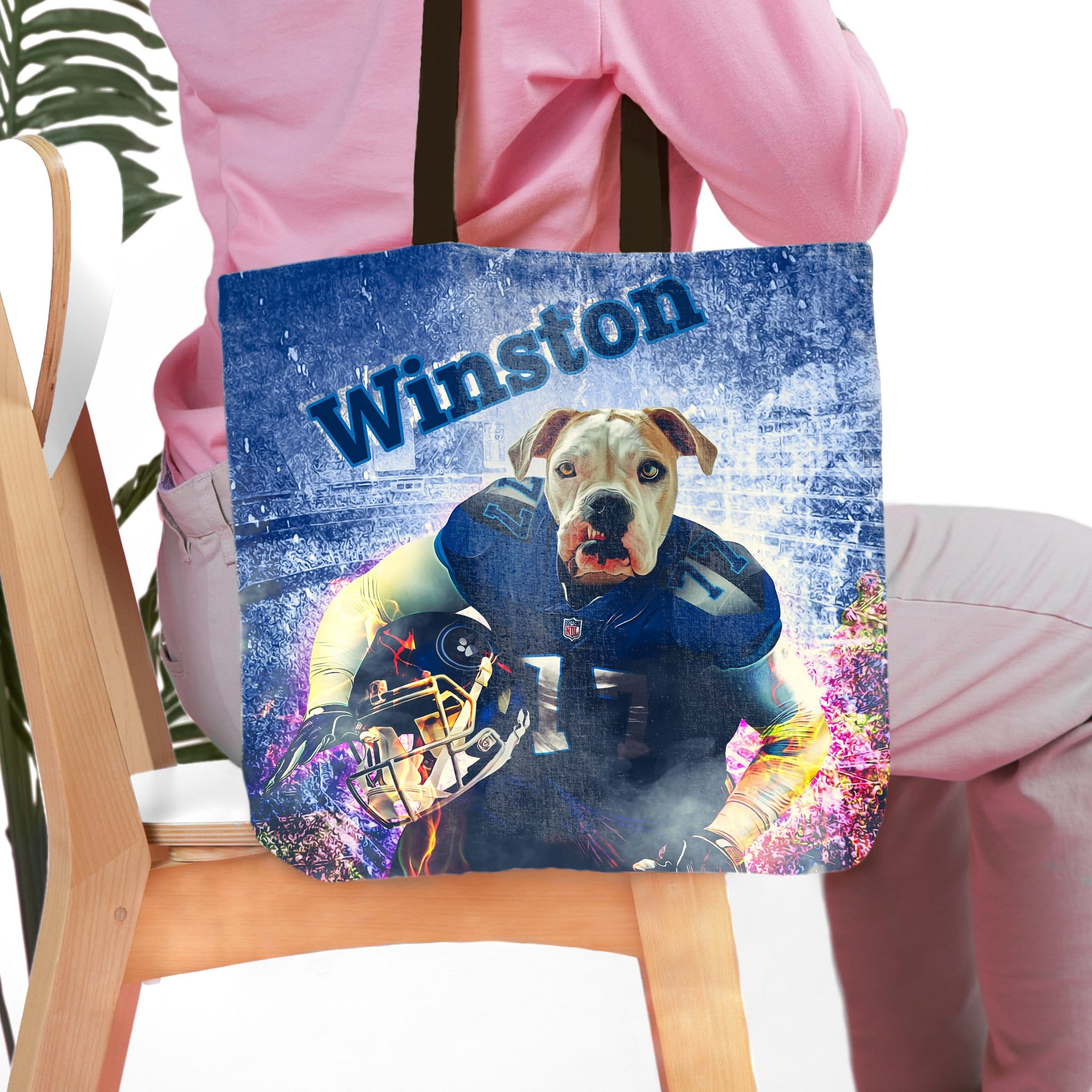 'Tennesee Doggos' Personalized Tote Bag