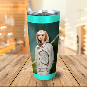 'Tennis Player' Personalized Tumbler
