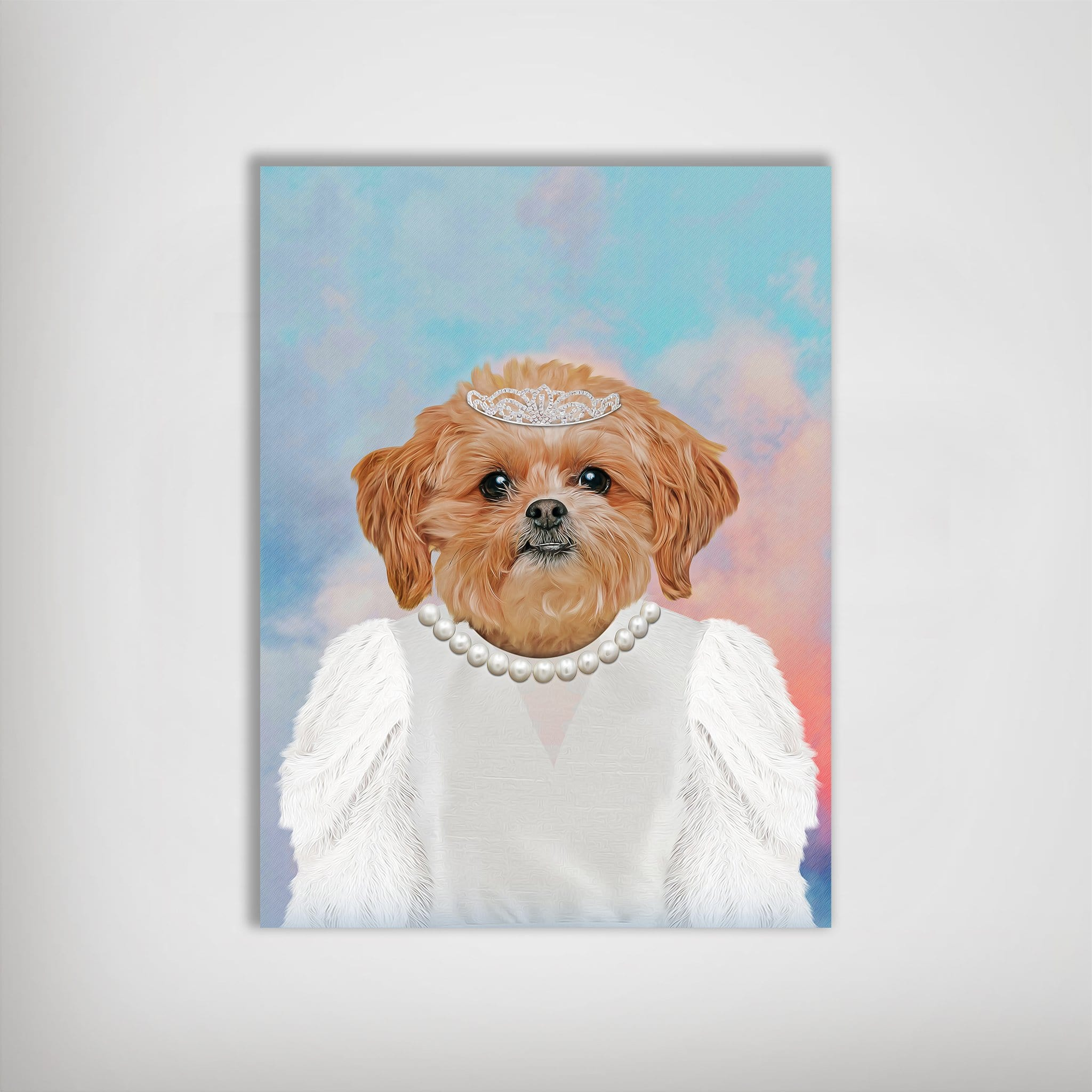 'The Bailarina' Personalized Pet Poster