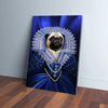 'The Baroness' Personalized Pet Canvas