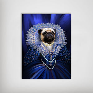 'The Baroness' Personalized Dog Poster