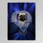 'The Baroness' Personalized Pet Blanket