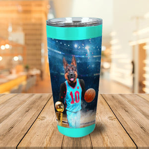 'The Basketball Player' Personalized Tumbler
