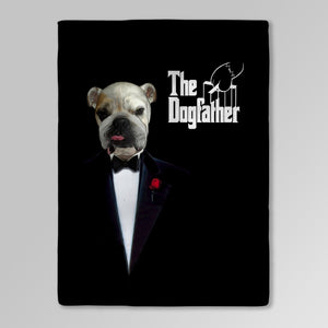 'The Dogfather' Personalized Pet Blanket
