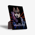 'The Doggonator' Personalized Pet Standing Canvas