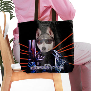 'The Doggonator' Personalized Tote Bag