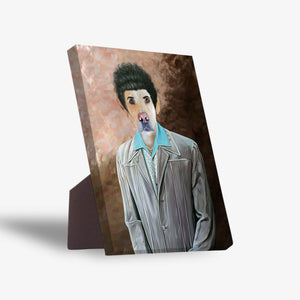 'The Kramer' Personalized Pet Standing Canvas