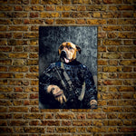 'The Navy Veteran' Personalized Dog Poster