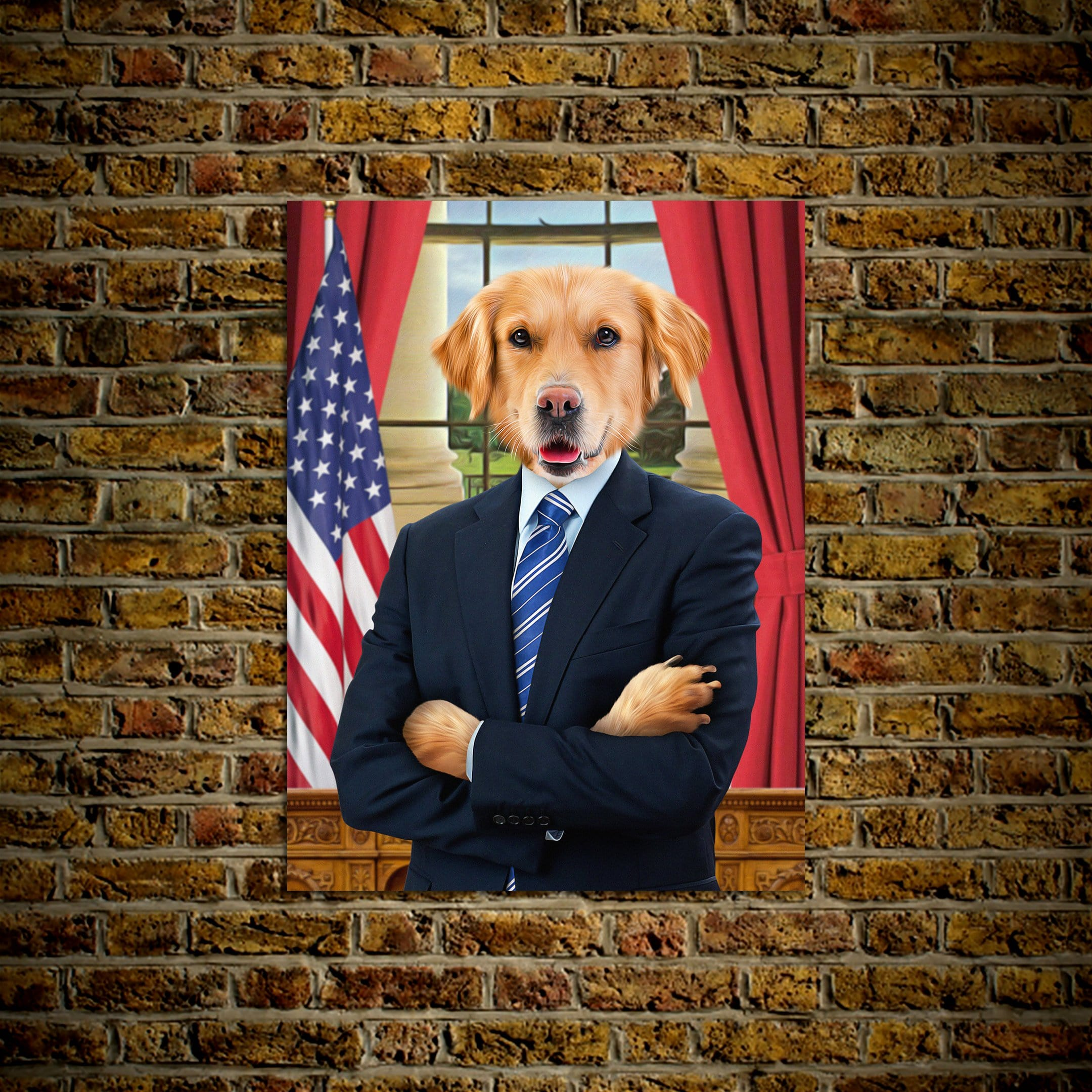 'The President' Personalized Pet Poster