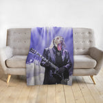 'The Rocker' Personalized Pet Blanket
