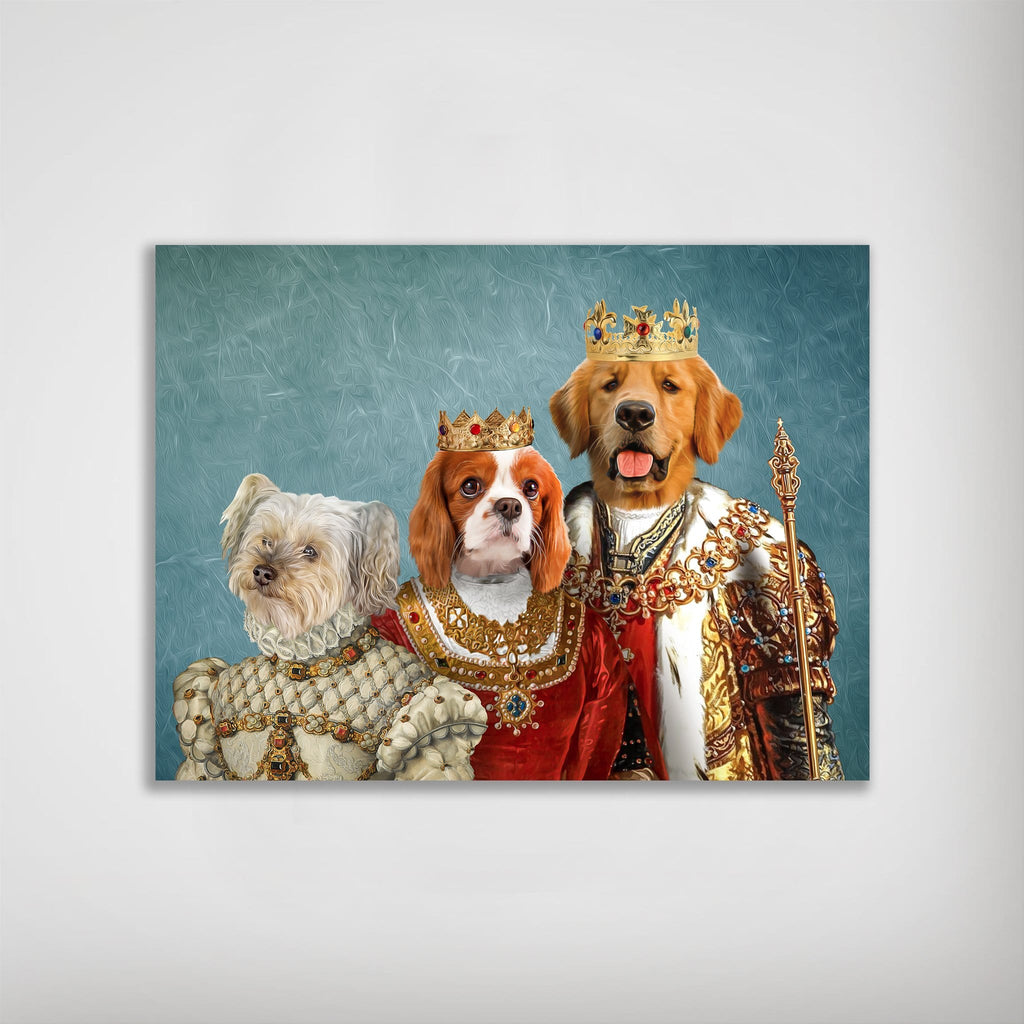 'The Royal Family' Personalized 3 Pet Poster