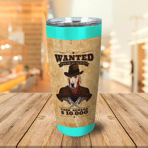 'The Wanted' Personalized Tumbler