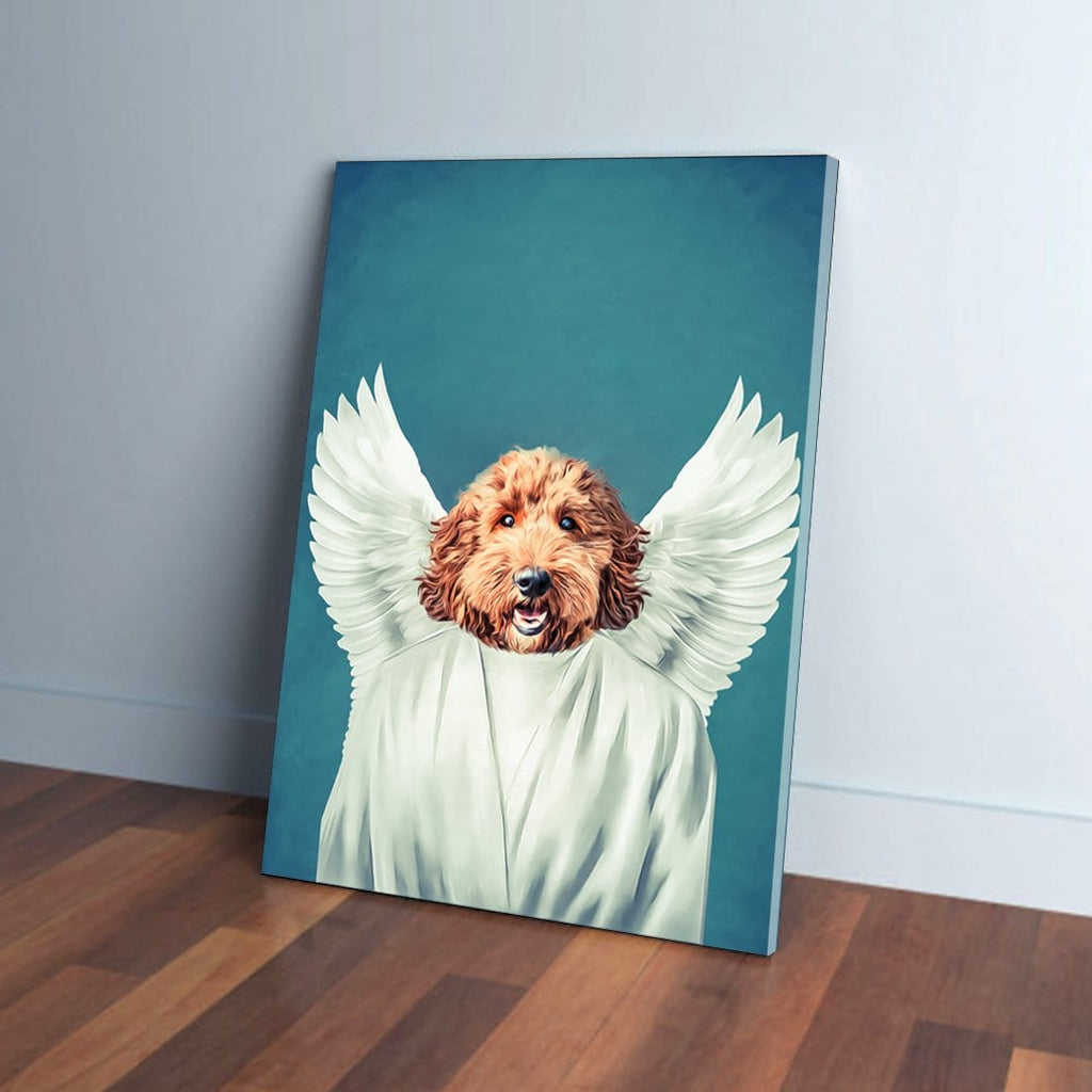 The Angel: Personalized Pet Canvas