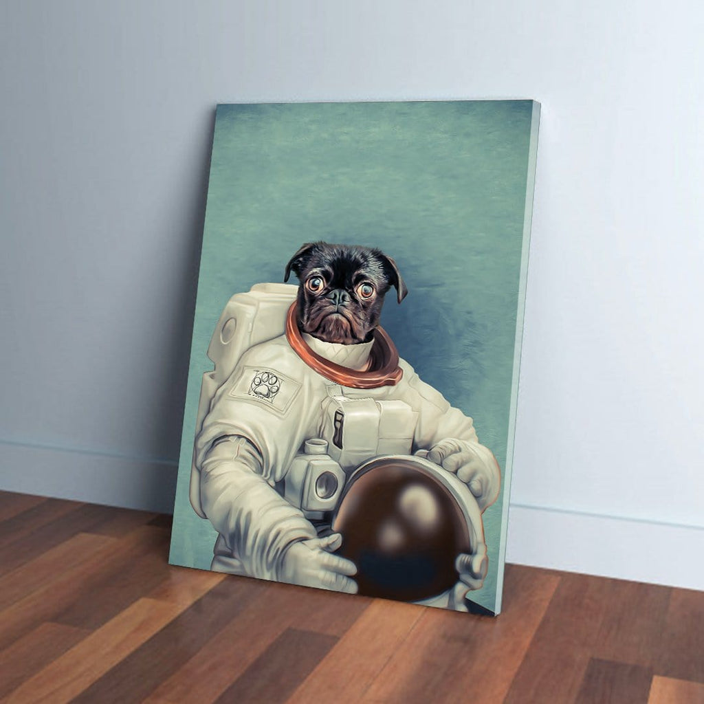 The Astronaut: Personalized Canvas