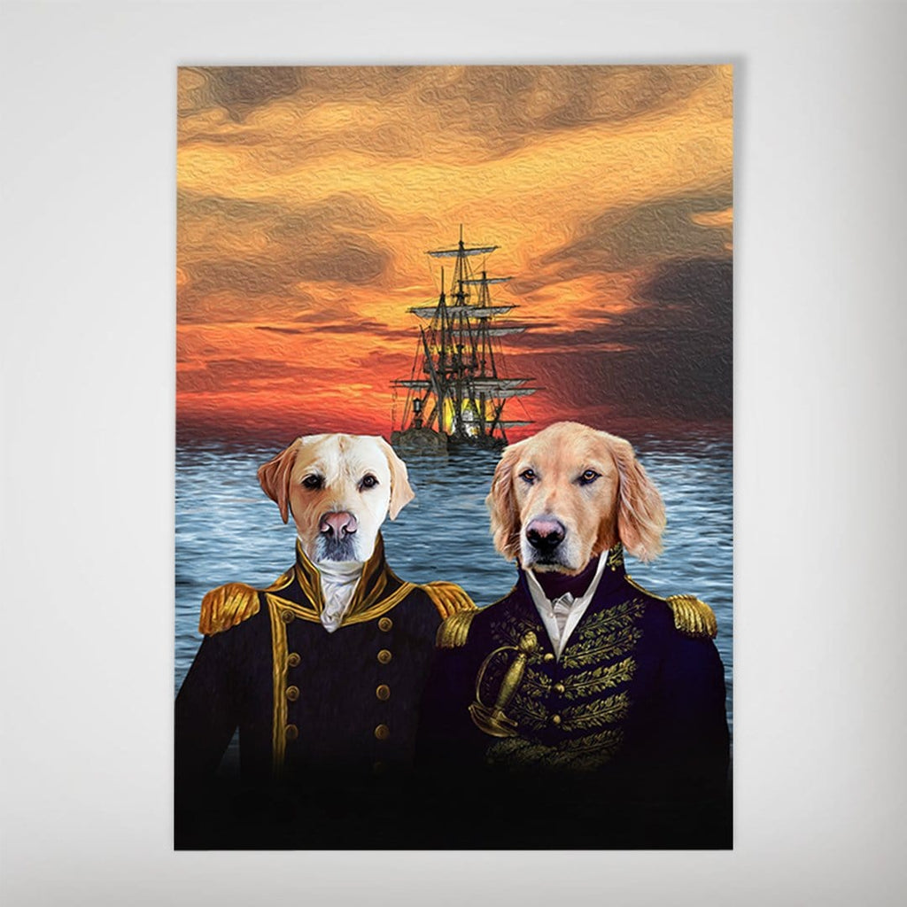 The Explorers: Personalized 2 Pet Poster