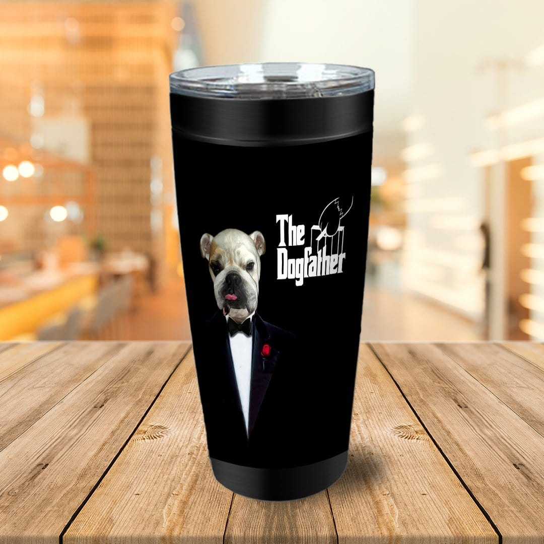 The Dogfather Personalized Tumbler