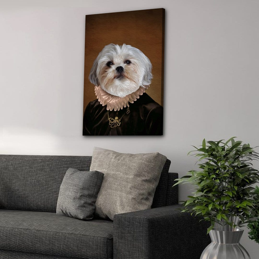 The Duchess: Personalized Pet Canvas