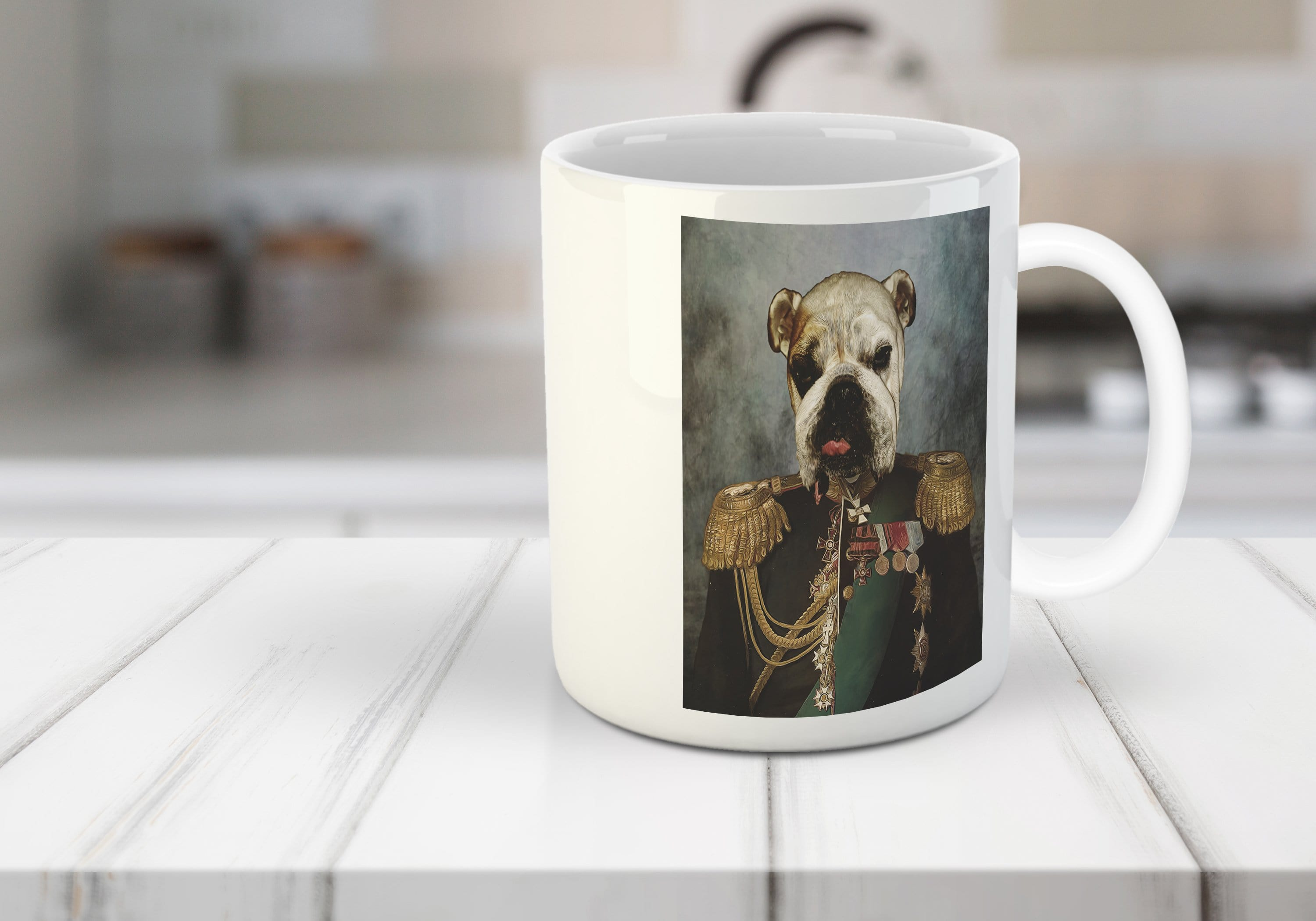The General Custom Pet Mug