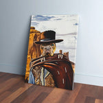 'The Good the Bad and the Furry' Personalized Pet Canvas