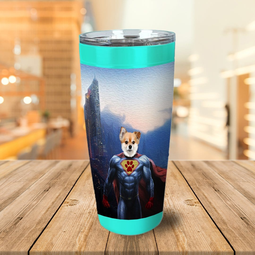 The Super Dog Personalized Tumbler