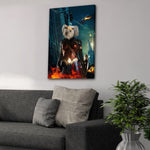 'Wonder Doggette' Personalized Pet Canvas