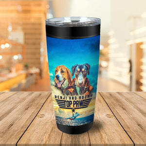Top Paw Personalized 2 Pet Tumbler