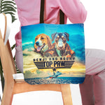 'Top Paw' Personalized 2 Tote Bag